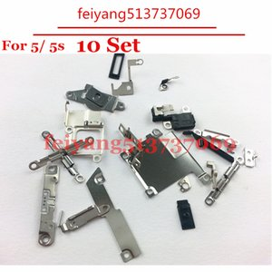 10set Original For iPhone 5 5s Inner Small Parts Replacement Fastening & Brackets Inner Accessories Inside Small Metal Parts