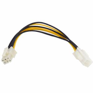 10 ШТ. / ЛОТ 6 Контактный Разъем Мужчина-Женщина PCI Express GPU Питания Блок Питания GPU Удлинитель