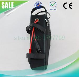 Eu nenhum imposto Super Poder Ebike Triângulo Bateria Bateria De Lítio 48 V 15Ah Bicicleta Elétrica Da Bateria com BMS e Carregador