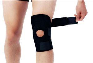 1 Pc / Lot OK Matériel Genouillères Protège-genoux Protège le genou et le protège de la couleur noire Style Fashion