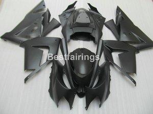 انخفاض سعر أجزاء موتو fairing kit لكاواساكي النينجا ZX10R 04 05 ماتي الأسود fairings نارية مجموعة ZX10R 2004 2005 YT51