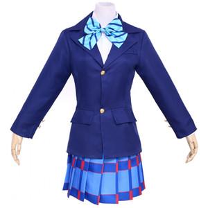 Malidaike Love Live Honoka Yazawa 니코 학교 유니폼 코스프레 복장 Chioce Girls Womens Dress Suit 3 색 바지