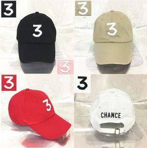 Шанс рэппер 3 cap Hat вышитые регулируемые Strapback Cap папа Hat шанс 3 бейсболки шляпы для мужчин и женщин бесплатная доставка