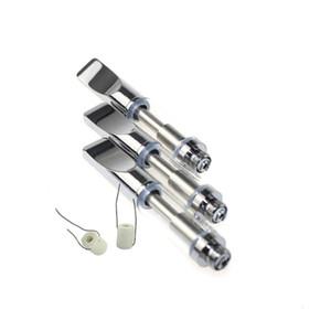 Bobine en céramique Pyrex verre Cartouches Bud Touch CE3 Réservoir Vaporisateur 510 O atomiseur de stylo Vapor WAX épais Huile e cigs Vape