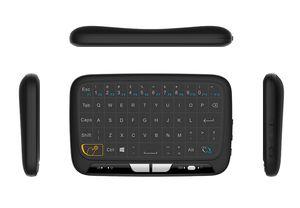 2017 Yeni H18 Mini 2.4G Kablosuz Klavye ile Tam Dokunmatik Yüzey Hava Fare Klavye Android TV Kutusu Linux T95M X96 MXQ Pro
