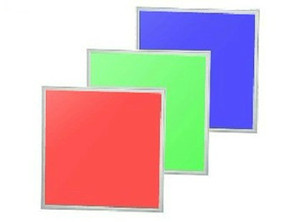 Frete Grátis 600x600mm 36 W RGB Cor LED Painel Luz com Controle Remoto de Alumínio + PMMA SMD5050 Super Bright LED Chips