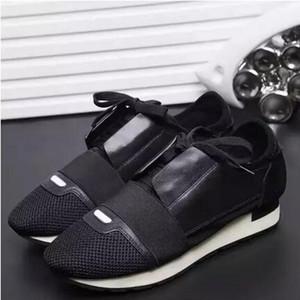 Atacado-Super Qualidade Arena Shoes Men Sneakers corredor de corrida amarelo / bown / sapatilha de fundo verde verão sapatos de corrida de luxo homens 36-46
