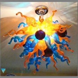 100% Mouth выдувные Люстры CE UL боросиликатного стекла Murano Новый Стиль Art Китайский цвет стекла Лобби