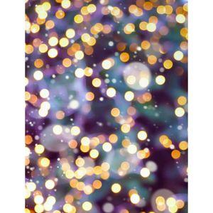 Golden Bokeh Backdrop Photography Sparkle Shimmer Lights Vinilo Photo Backdrops Purple Recién nacido Baby Studio Photo Shoot Props