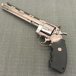 Büyük Metal Tabanca Çakmak Colt Viper Büyük Revolver 357 Simülasyon Modeli Çakmak 1: 1 Metal Tabanca Tipi Tabanca Çakmak