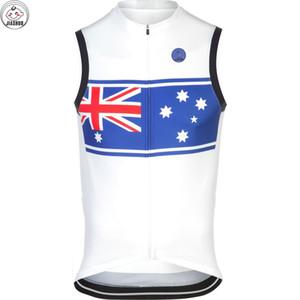 AUSTRALIA NEUE 2017 Fahrrad mtb Straße RACE Team Pro Radfahren Westen Jersey / Shirts Tops Kleidung Atemluft JIASHUO angepasst