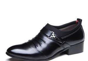 Primavera autunno uomo casual scarpe di cuoio per gli uomini scarpe a punta scarpe da uomo scarpe da sposa formale scarpe oxford nero marrone