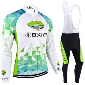 BXIO winter fleece Cycling Jerseys 추천 상품 사이클링 의류 안티 슈 링크 바이크 옷 긴 소매 세트 사이클링 의류 BX-040
