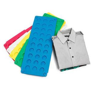 Pannello avvolgente Lazy Large Folding Clothes Board Schede di piegatura in plastica rapide e facili Prodotti per la casa Alta qualità WX-C06