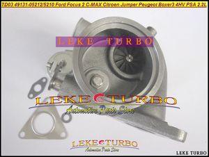 Турбонагнетатель TD03 49131-05212 6U3Q6K682AE Turbo для Ford на Фокус 2 C-Макс для прыгуна Citroen боксер 3 4hv PSA 2.2 L HDI Peugeot
