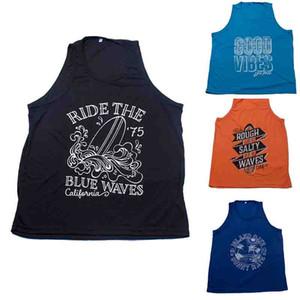 Summer New Men's Sports de secado rápido Base Laye Vest Fitness Running Training sin mangas