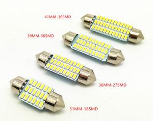 Оптовая гирлянда 3014 smd 31 мм 36 мм 39 мм 42 мм C5w интерьер LED купол свет лампы для автомобиля