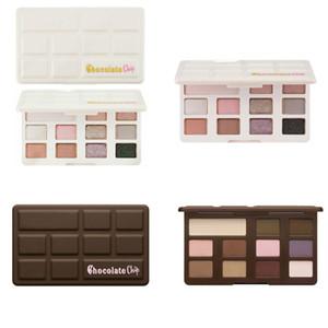 Nova meia 11 cores de chocolate chip de olho sombra 11 cores limited edition paleta da sombra fosco mini maquiagem profissional caixa branca