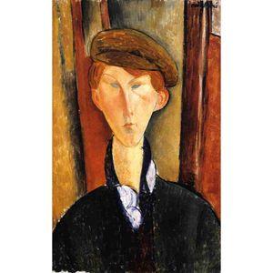 абстрактные портретные картины Амедео Модильяни молодой человек с крышкой девушки искусства для спальни Декор высокого качества
