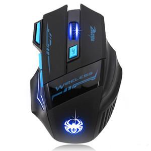 Top Quality Regolabile per Gamer Pro Gamer 2400 DPI Optical Gaming Mouse Gamer per PC Laptop Accessori per computer
