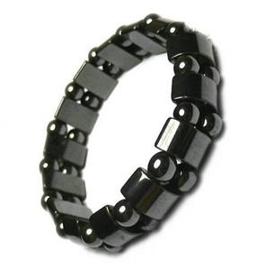10 teile / los Schwarz Magnetische Gesunde Armbänder Für DIY Handwerk Modeschmuck Gfit 8 zoll M41 Kostenloser Versand