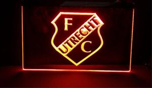 FBHL-01 UTRECHT dans le championnat des Pays-Bas Bar bière pub club signes 3d NR LED Neon Light Sign décoration pour la maison artisanat