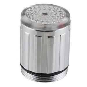 YKS029 brand new موردن نمط الإبداعية استشعار الضغط الصمام الخفيفة الحنفية الحنفية الحنفية 3 اللون rgb الوهج دش حار بيع