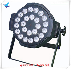 6Xlot fly case led par light 6in1 24x18w par 64 rgbwa uv cina led par