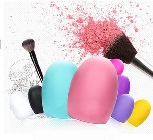 Chegou novo Brushegg Escovas Limpas Lavagem Ovo Escova Ferramentas de Limpeza Cosmética Para Maquiagem Brushes Ferramenta de Beleza