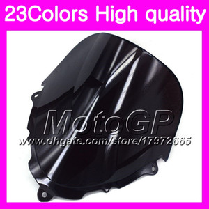 23Цветное ветровое стекло для SUZUKI Katana GSXF600 GSX750F 98 99 00 01 02 1998 1999 2000 01 2002 хром черный