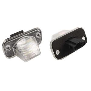 COCHE para VW 2PCS FREE ERROR 18SMD LED License Plate Lamp 12V