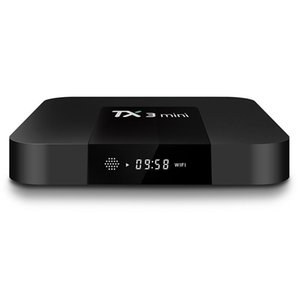 Android 8.1 TV BOX TX3 Mini 1GB 8GB Quad Core Amlogic S905W Media Player Support Wifi DLNA vs h96 mini mxq pro