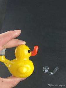 2019 Super love yellow duck glass oil rig разнообразие американских витражей бонг подлежит индивидуальной настройке. Обеспечить обработку OEM