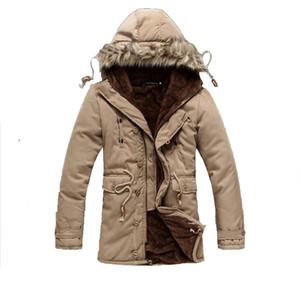 Wholesale- RU BR 15-35 days arrived down & parkas winter coat men long padded 2014  plus size XXXL casacos de inverno masculino
