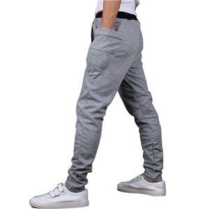 Оптово-2015 Brand New Fashion Brand Sweatpants Брюки Мужские шаровары трениках, мужские Большой карманный дизайн Man Cargo Joggers M ~ XXL