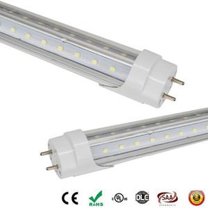 T8 LED Tubes light V-Shape double glow both sides 4ft 28w 1.2m G13 LED fluorescent light AC85-265V CE UL RoHS