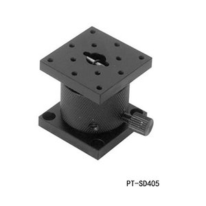 정밀 수동 리프트 Z 축 수동 랩 잭 엘리베이터 광학 슬라이딩 리프트 5mm 트래블 PT-SD405