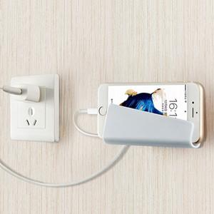 Yaratıcı Katlanabilir Duvar Şarj Adaptörü Cep Cep Telefonu MP3 Şarj Şarj Tutucu Cradle şarj Tutucu Standı