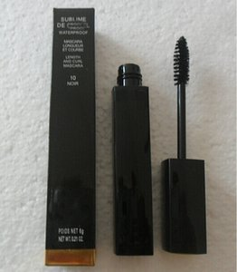 Free Shipping 12pcs lot New SUBLIME Beauty Waterproof Mascara Black 6G