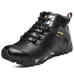 Männer Stiefel Wasserdicht Männer Schuhe Stiefel 2017 Winter Schnee Stiefel Pelz Mode Männer Winter Schuhe zapatos hombre