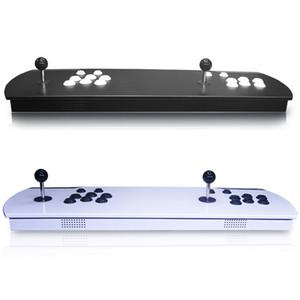 Caixa de metal duplo Arcade Vara Game Console 3D Caixa de Pandora HD 2263 em 1 Jogos joystick botão