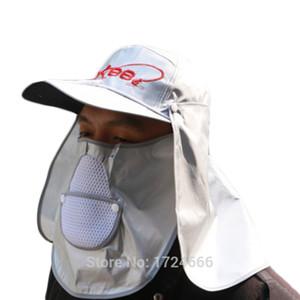 Unisex 들어 갔어 낚시 모자 53-63 cm 조정 가능한 머리 원주 방풍 Pesca 모자 야외 방진 설비
