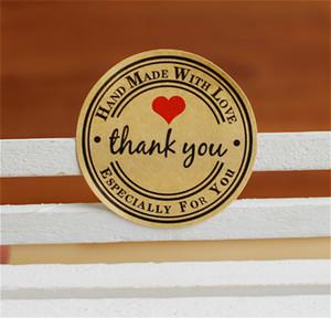 Geschenkpapier Aufkleber Hochzeitsgeschenke für Gäste Geschenk Siegeletiketten Verpackung Etiketten Partydekorationen 100 Seiten pro Los