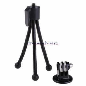 Mini portátil ajustável flexível Monte Bracke Levante Monopod tripé Suporte para Digtal Camera para iPhone Samsung Universal