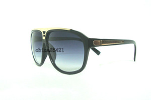 1 Adet Mens Womens Güneş Gözlüğü Kanıt Güneş gözlükleri Tasarımcı Siyah Çerçeve Gözlük Gözlük Kılıf Ile Gel 4 Colors Seçmek için