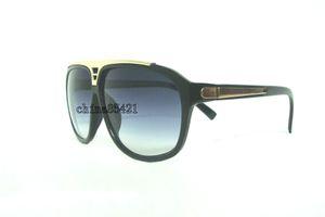 1Pcs Mens Womens Sunglasses Evidence Sonnenbrille Designer Black Frame Brille Eyewear Come With Case 4Colors zur Auswahl