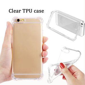 Ultra sottile Clear TPU Case Transparency Soft TPU Silicone Back Cover Pellicola Protezione del telefono per iPhone 12 XS Max XR Nota20 Huawei P20 P30 Pro