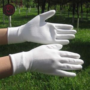 PU Work Gloves كف قفازات العمل المغلفة ، مستلزمات السلامة في مكان العمل ، قفازات السلامة guantes trabajo 24pcs = 12pair