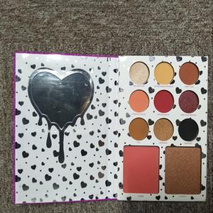 Mais novo A coleção de aniversário QUERO TUDO EyeshadowBronzerBlush pallete 12 cores eyeshadow Makeup Set DHL grátis