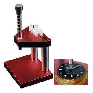 Nuevo reloj de lujo Presto Manual de la mano Prensatelas Conjunto de herramientas de reparación de relojes Relojero